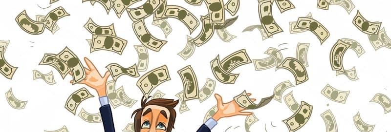 El virus que hace llover dinero
