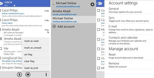 Outlook actualiza su aplicación con funciones similares a la aplicación de escritorio