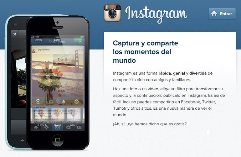 Crear una cuenta en Instagram