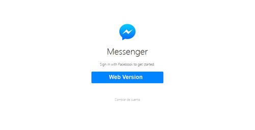 Facebook: Ya puedes utilizar Messenger desde tu computadora