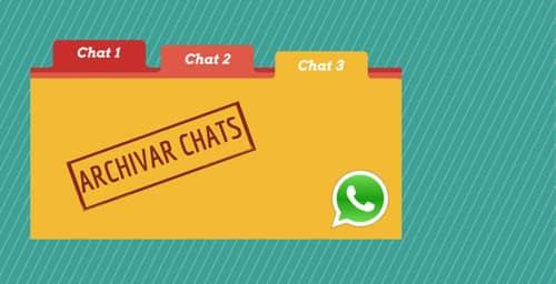 Qué es y para qué sirve la función Archivar Chats en WhatsApp