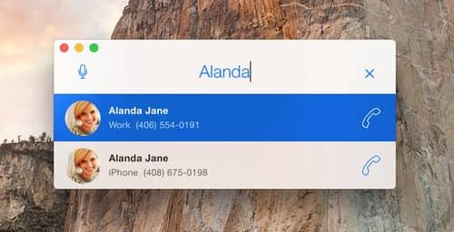 DockPhone te permite hacer llamadas desde tu Mac