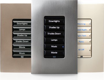smart lighting scenes for home automation and lighting control