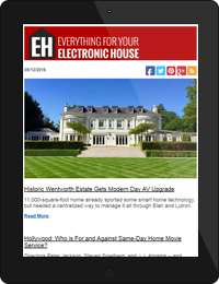 Electronic House newsletter