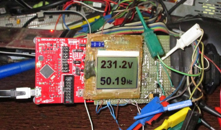 Measuring True RMS Mains Voltage and Frequency using MSP430 microcontroller