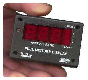 Wide Band Fuel Mixture Display