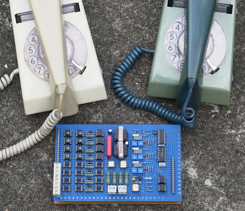 Your own 8-line telephone exchange