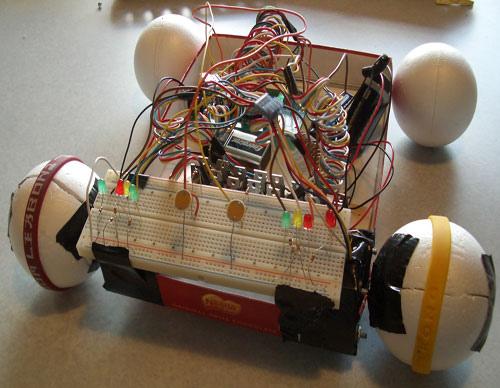 LightRover – light sensing robot