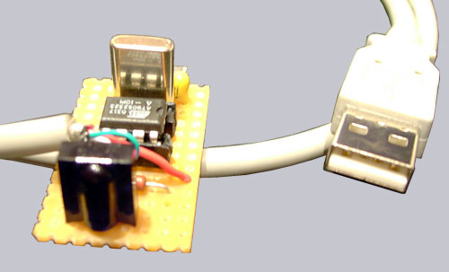 Self-made USB infrared receiver to remote control your PC