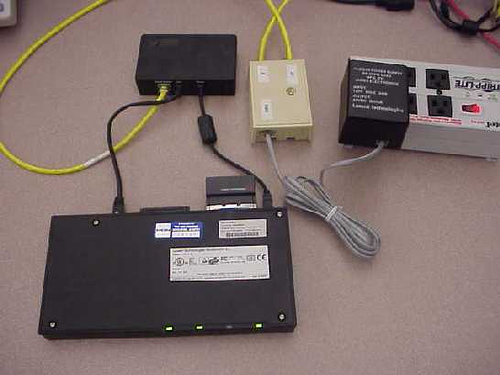 Power over your ethernet cable to an access point