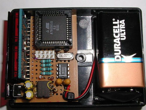 A Homemade Acceleration meter