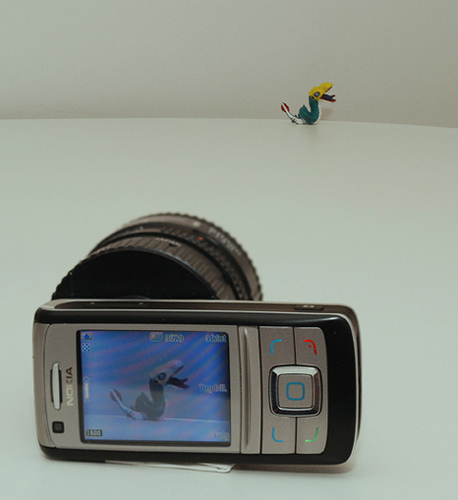 Nokia 6280 with SLR optics
