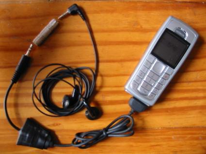 Make a Nokia Pop port to female mini jack with volume control
