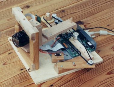 Building a megapixel digital camera from a flatbed scanner