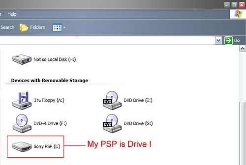 Control your desktop from your toilet via your PSP