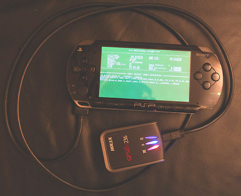 Simple PSP-GPS hookup