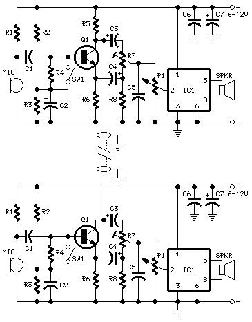 Full-duplex Intercom