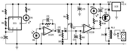 Infra-red Level Detector