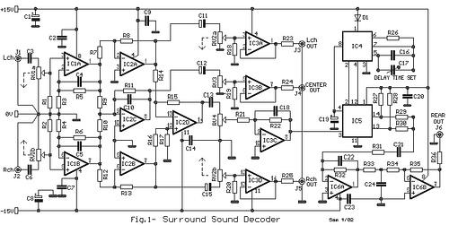Small Surround Sound Decoder