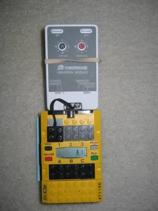 A Homebrew Versatile X10 Signal Analyzer (Data Logger) using a Lego RCX
