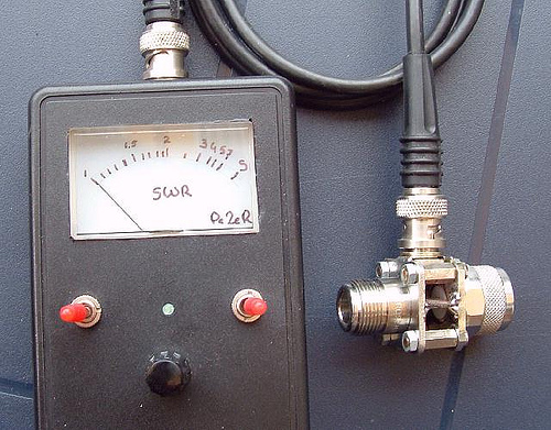 Homebrew SWR meter for VHF, UHF and SHF (including Wifi ISM Band)