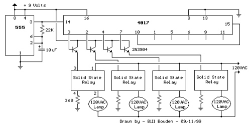 120VAC Lamp Chaser