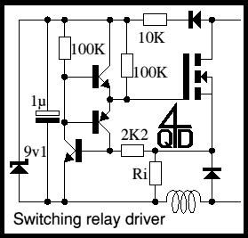 Switching Solenoid Driver