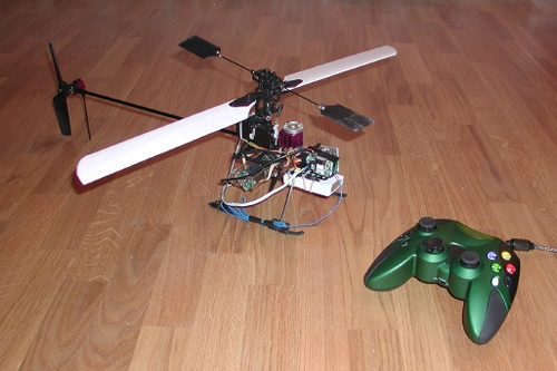 ChRoMicro – Cheap Robotic Microhelicopter