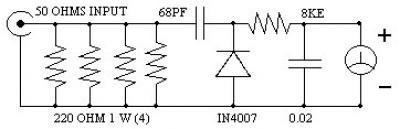 Simple RF Power Meter