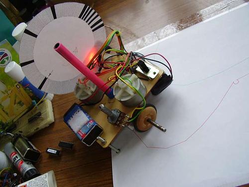 Simple handwriting robots