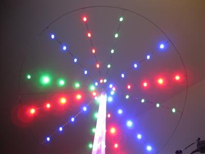 LED Umbrella For Grass