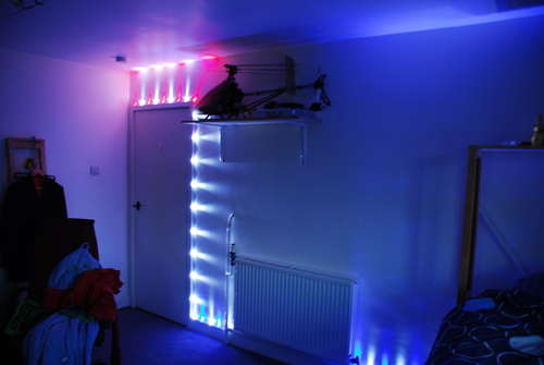 Fast, Quick, Cheap, Good looking LED room lighting