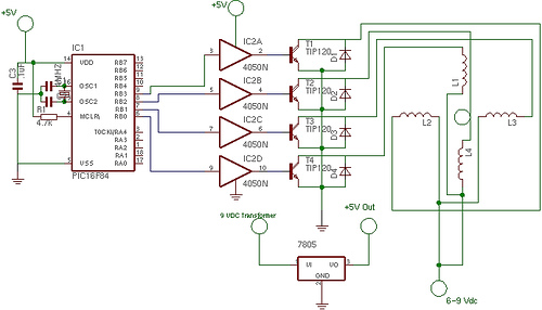 First Stepper Circuit