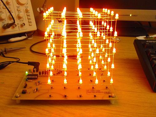 5x5x5 LED Cube Controller