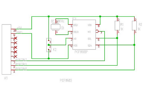 Real Time Clock PCF8583