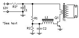40W Fluorescent Lamp Inverter
