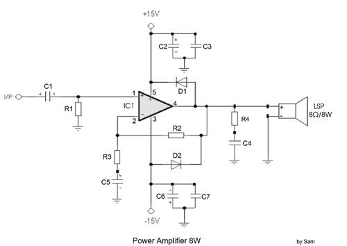 Power Amplifier 8W
