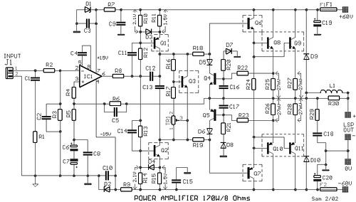 Power Amplifier 170W