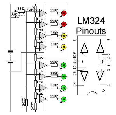 Audio VU Meter