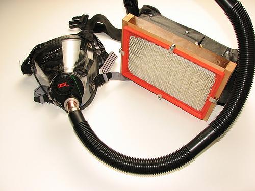 Gas Mask Powered Respirator