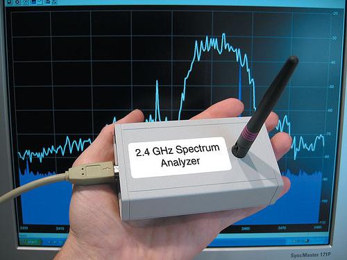 Low-Cost 2.4-GHz Spectrum Analyzer
