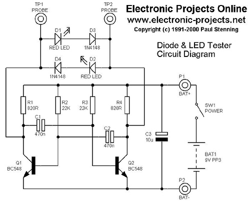 Diode and LED Tester