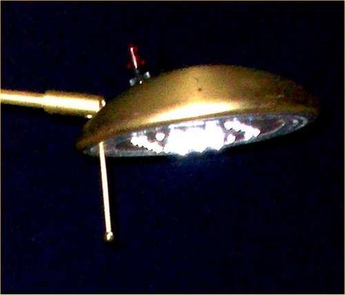 12V LED accent floor lamp