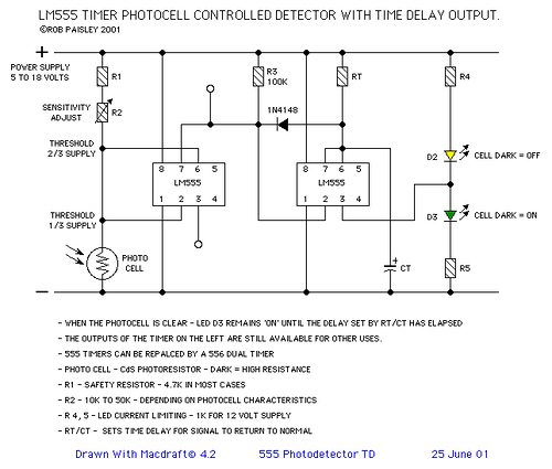 Light Activated Detector Circuit