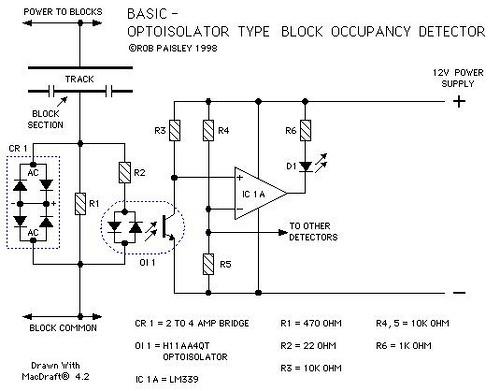 Optoisolator Type Block Occupancy Detectors