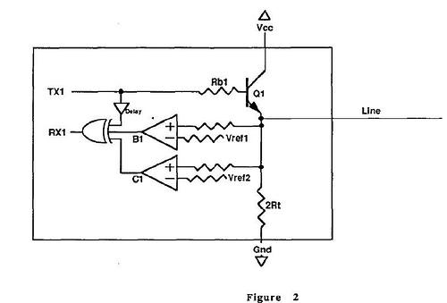 One Wire Full-Duplex Communication Scheme
