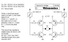 Steve Bolt's 4-transistor H-bridge