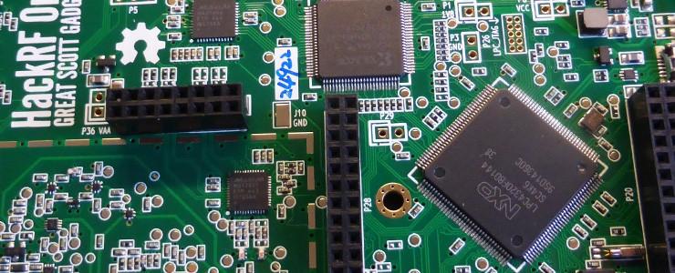 HackRF One SDR EMI Shield installation