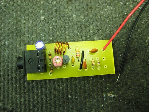Simple Audio FM Transmitter