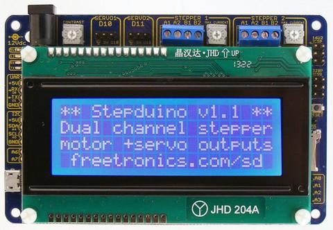 Make a desktop CNC plotter with Arduino